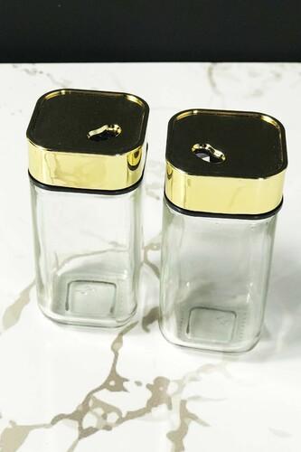 - 2 li Cam Tuzluk-Biberlik Gold