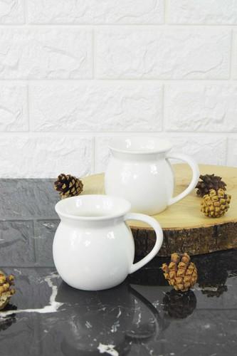 - 2 Li Porselen Çay Kahve Bardağı