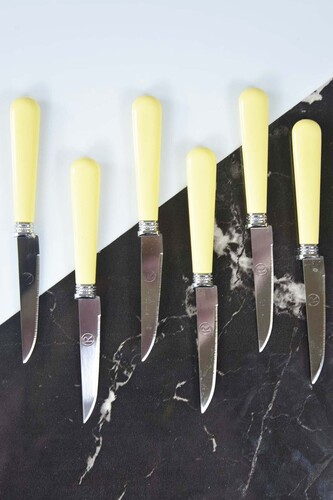 - 6 Parça Lüx Meyve Bıçağı Krem