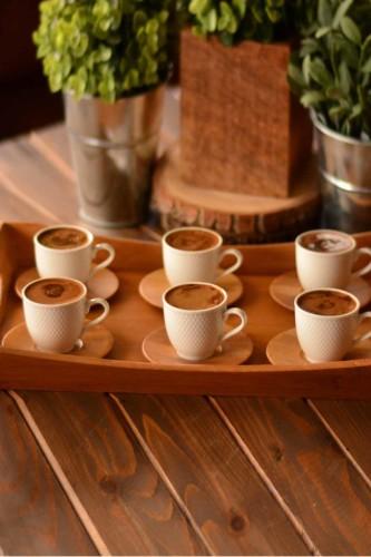 - Adele 6 Kişilik Kahve Fincan Takımı