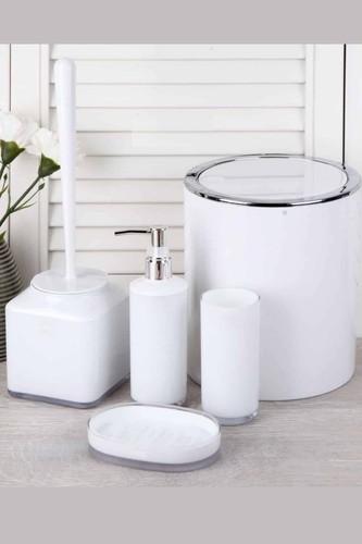 - Akrilik Banyo Seti Beyaz
