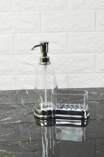 - Akrilik Sıvı Sabunluk Gümüş
