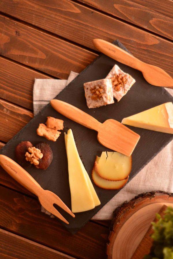 Algi - 3 Parça Peynir Bıçak Seti