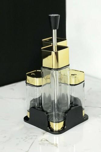 - Arow - 4'lü Yağlık Sirkelik Seti Gold