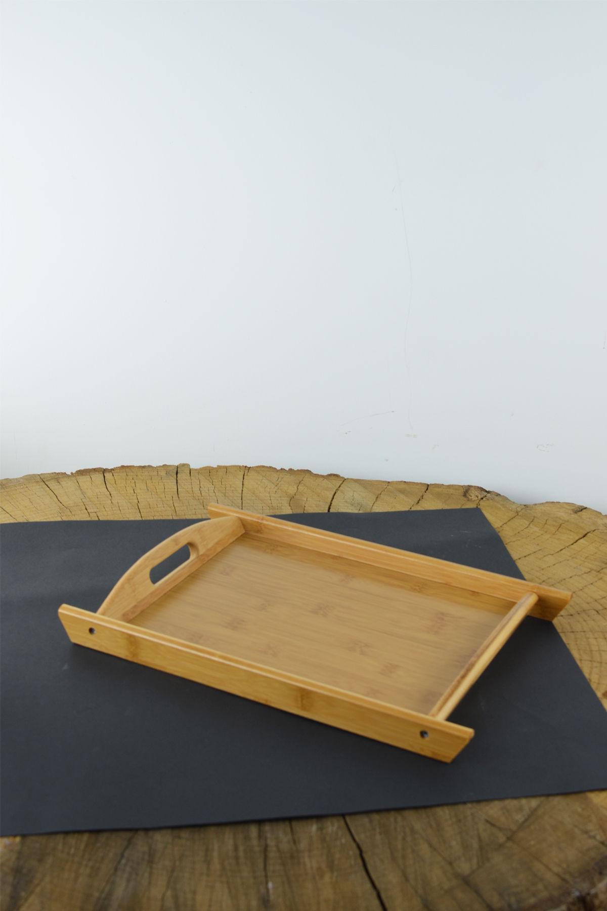Bambu Dikdörtgen Tepsi Küçük