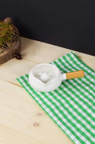 - Bambu & Porselen Limon Sıkacağı