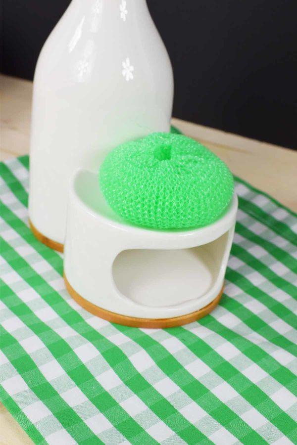 Bambu & Porselen Sıvı Sabunluk