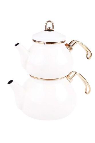 - Beyzade - Çaydanlık Takımı Krem