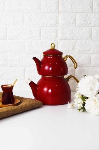 - Bondy Keyfi Ala Çaydanlık Kırmızı