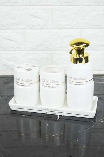 - Cedro Banyo Seti Porselen Beyaz