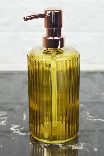 - Damien - Cam Sıvı Sabunluk Hardal