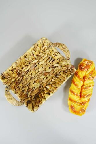 - Ekmek Sepeti Hasır Dikdörtgen