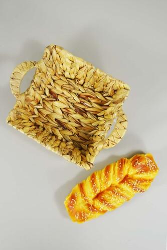 - Ekmek Sepeti Hasır Kare