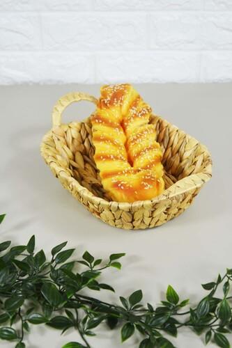 - Ekmek Sepeti Hasır Oval