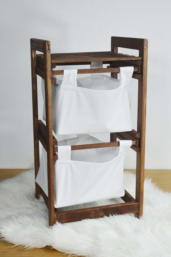 Eko - 2 Katlı Çamaşır Sepeti