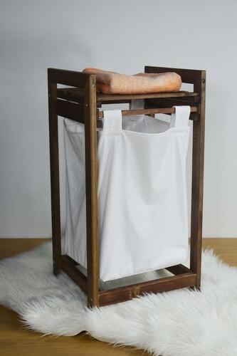 - Eko - Çamaşır Sepeti Sürgülü Kahverengi