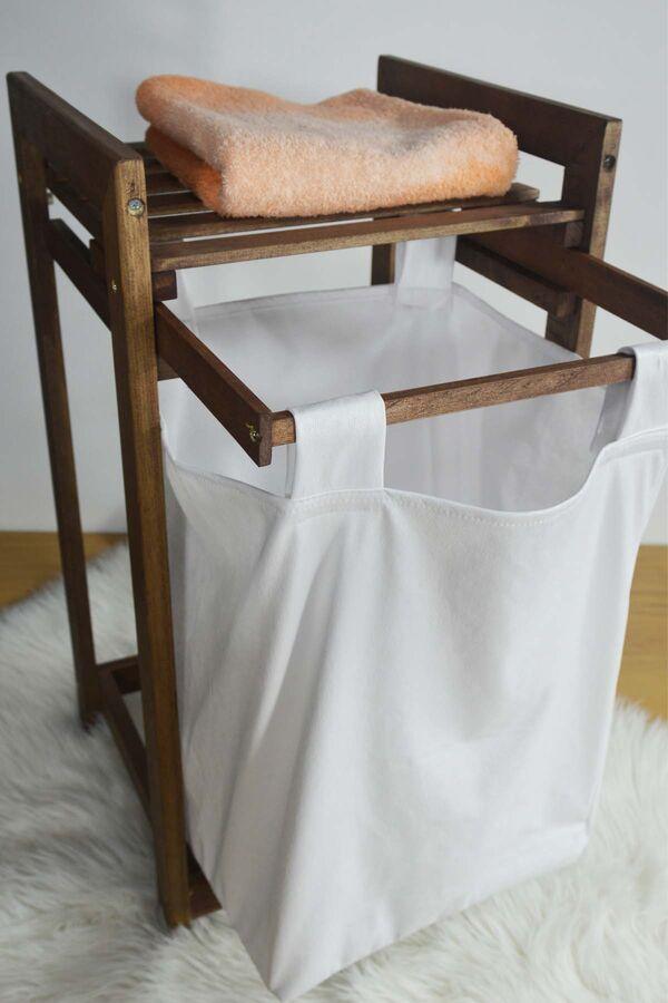 Eko - Çamaşır Sepeti Sürgülü Kahverengi