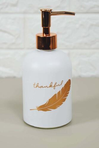 - Enzo Sıvı Sabunluk Büyük Beyaz