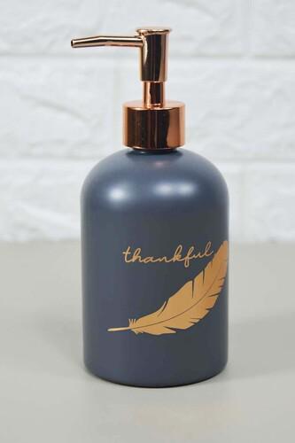 - Enzo Sıvı Sabunluk Büyük Gri