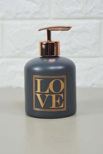 - Enzo Sıvı Sabunluk Küçük Gri
