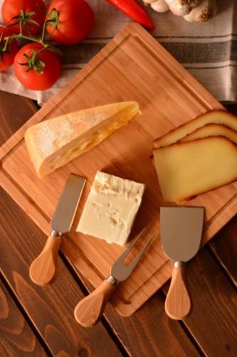 - Ezine - 3 Parça Peynir Bıçak Seti