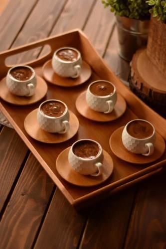 - Fabele - 6 Kişilik Kahve Fincan Takımı