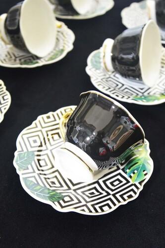 - Famos - Porselen Kahve Fincanı