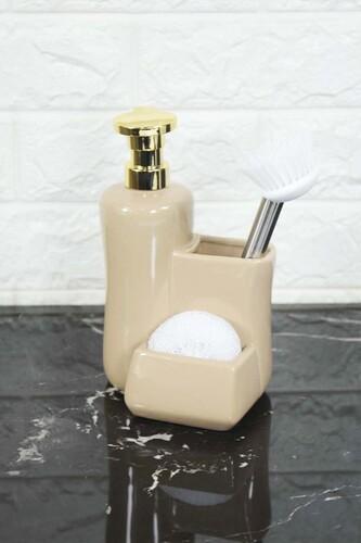 - Fırçalı Sıvı Sabunluk Krem