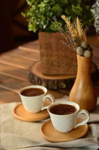 - Flo - 2 Kişilik Kahve Fincan Takımı