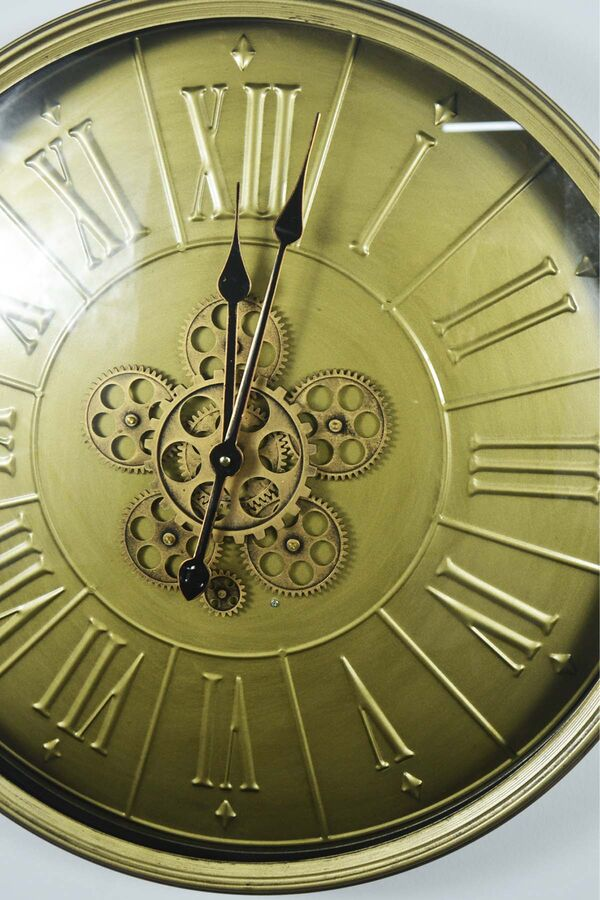 Gloria - Dekoratif Çarklı Saat