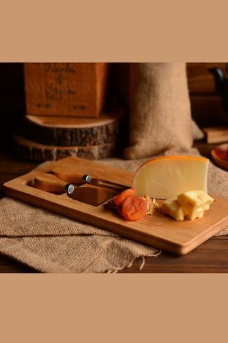 - Gorgon - 3 Parça Peynir Servis Seti