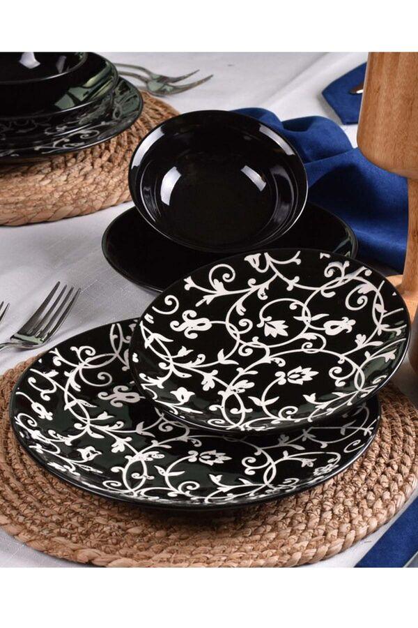 Hagia - 24 Parça Porselen Yemek Takımı