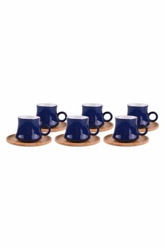 - Harem – 6 Kişilik Kahve Takımı Mavi