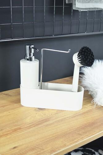 - Harper - Fırçalı Standlı Sıvı Sabunluk Krem
