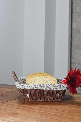 - Hasır - Camel Ekmek Sepeti Kare