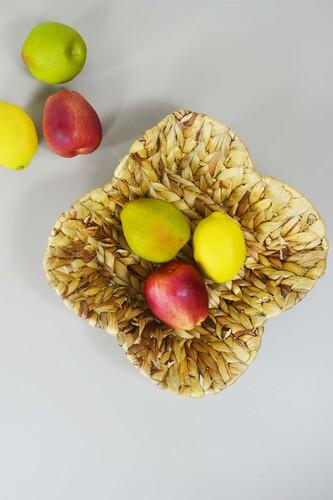 - Hasır Meyve Sepeti Kare