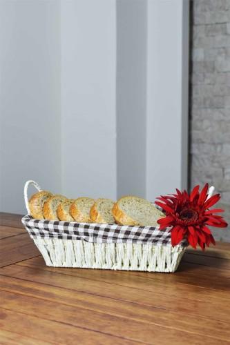 - Hasır - Oslo Ekmek Sepeti Dikdörtgen