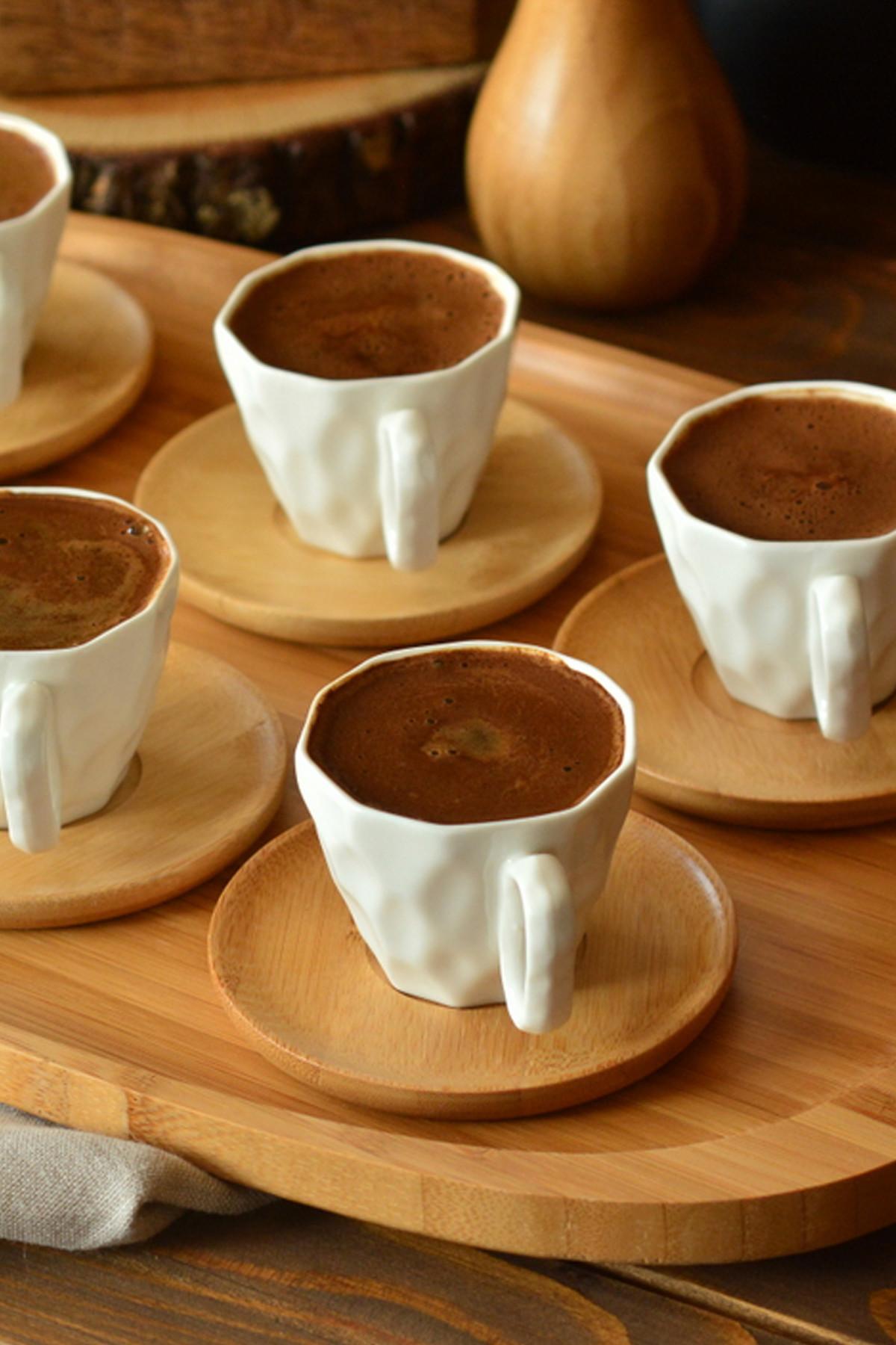 - Hull - 6 Kişilik Kahve Takımı