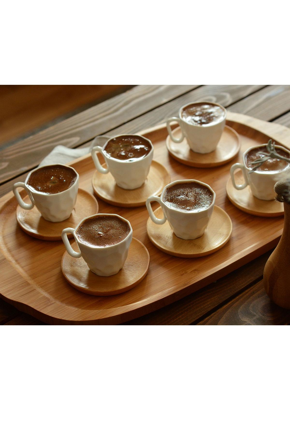 Hull - 6 Kişilik Kahve Takımı