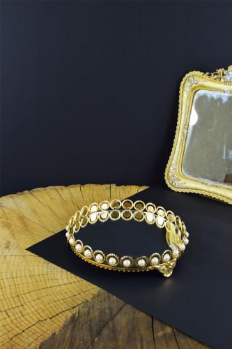 - İnci Tepsi Model Gold