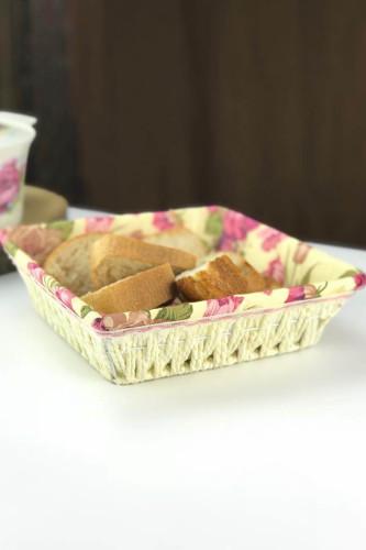 Sepetcibaba - Kare Hasır Ekmeklik