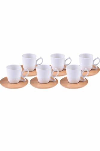 - Kısmet - 6 Kişilik Kahve Fincan Takımı