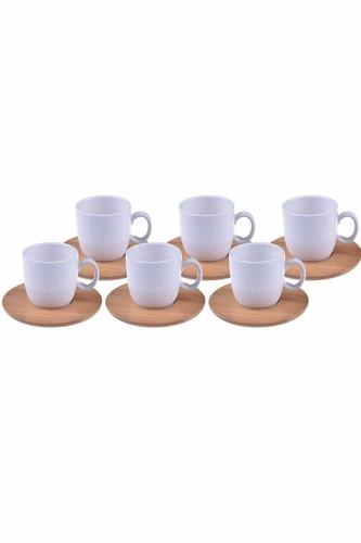 - Kostas - 6 Kişilik Kahve Fincan Takımı