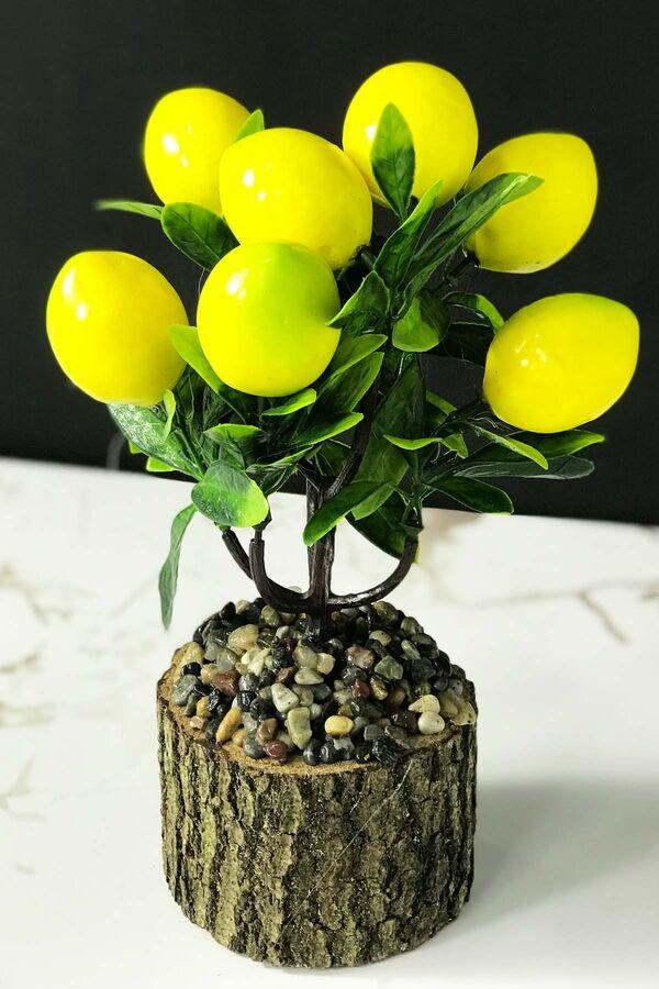Kütükte Limon Ağacı