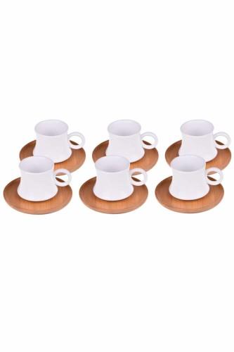 - Largi – 6 Kişilik Kahve Fincan Takımı