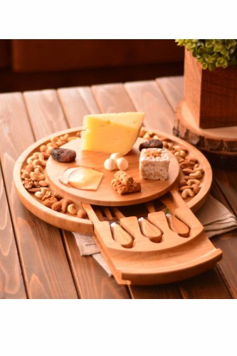 - Lecorino – 5 Parça Peynir Servis Seti
