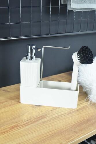 - Lotus - Fırçalı Standlı Sıvı Sabunluk Krem
