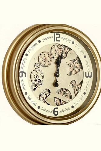 - Lüx Dekoratif Çarklı Saat 1