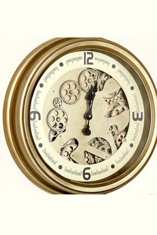 Lüx Dekoratif Çarklı Saat 1