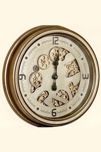 - Lüx Dekoratif Çarklı Saat 2